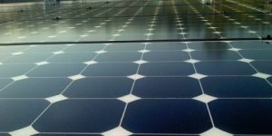 Solar panel for solar power