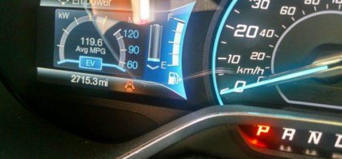 119.6 Miles Per Gallon