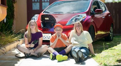 Photo: Domino helped the Millers go solar and save even more with an electric car