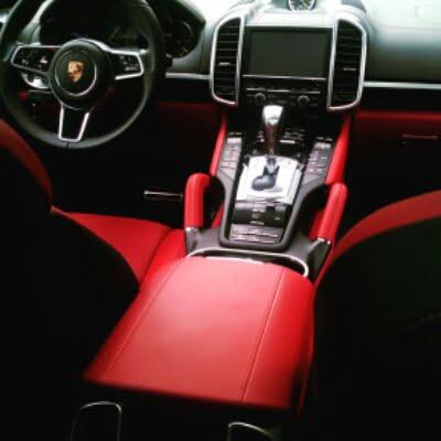 interior Porsche Cayenne S Plugin E-hybrid plugin hybrid electric car
