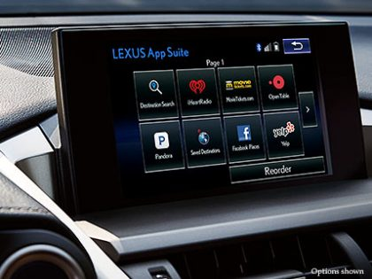 Test Results 2015 Lexus NX 300h Hybrid Electric Car app suite
