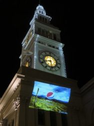 Pepsi Superbowl projection