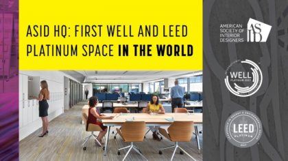 Asid Headquarters In Washington D C Is First Space In The World To Earn Both Leed And Well Platinum Certification Under Well Building Standard V1 Green Living Guy