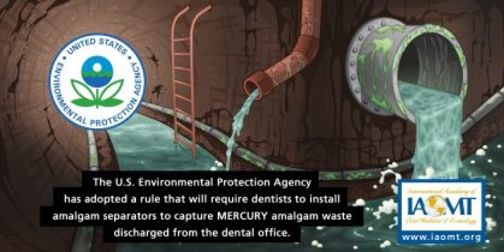 WORLD WILL BE TWO STEPS CLOSER TO ABATING MERCURY DAMAGE  EPA dental effluent rule effective July 14; UNEP mercury treaty enters into force August 16