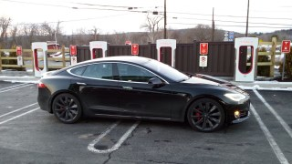 Tesla Model S. If it seems like there is more news about Tesla than any other car company, that's only because it's true. More new stuff swirls around the Land of Tesla every day than at most companies in a month — or a year! As the Model 3 nears its first public showing later this week, Tesla is making one move designed to further separate the Model S from its lower priced sibling. It is discontinuing the entry level Model S 75 with rear-wheel drive.