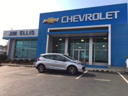 Bolt 'Car of the Year' at Jim Ellis Chevrolet in Georgia ...