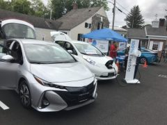 Prius Prime and Nissan Leaf