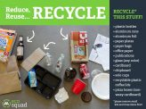 Children must know the importance of how to make your business sustainable with recycling