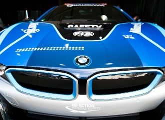 German manufacturer to continue to provide the BMW i8 used as the Qualcomm Safety Car as well as other models