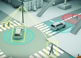 Panasonic v2x sensors sense not just cars but people.