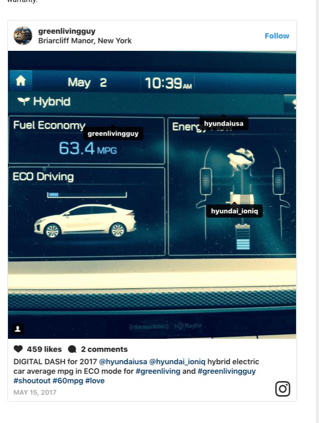 Test Drive Results Hyundai Ioniq Hybrid Electric Car