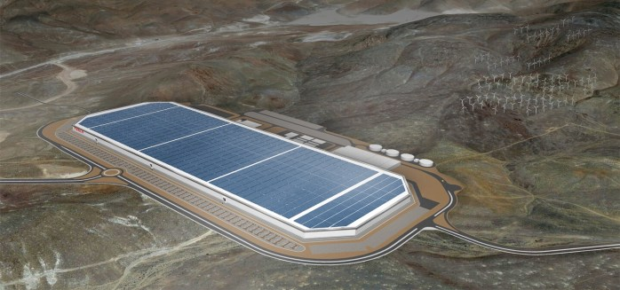 Gigafactory for Panasonic 2170