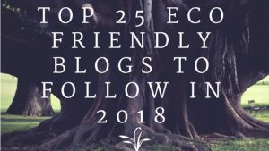 However, making the switch from disposable to reusable feminine hygiene products is only a very small part of the bigger picture. That's why we're featuring our top 25 eco friendly bloggers to keep an eye on for 2018. Are you ready to get inspired? Then keep on reading!