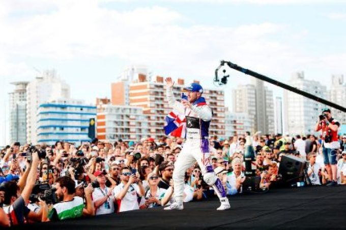 - Sam Bird secures third place during thrilling Punta del Este E-Prix- Best ever result for fellow British team-mate Alex Lynn with sixth- DS Virgin Racing move to third in both drivers' and teams' standings as series reaches halfway point
