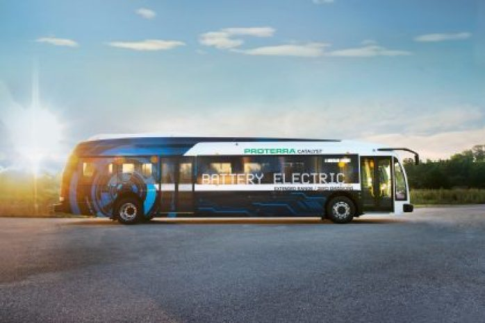 BALTIMORE, March 15, 2018 /PRNewswire/ -- Today Proterra, the leading innovator in heavy-duty electric transportation, announced that Baltimore Gas and Electric (BGE), a subsidiary of Exelon Corporation (NYSE: EXC), the nation's leading competitive energy provider, will deploy two new 40' Proterra Catalyst® E2 vehicles to shuttle employees between BGE's headquarters in downtown Baltimore and its Spring Gardens campus in south Baltimore. The deployment reflects BGE's leadership in fleet electrification as part of a broader grid modernization strategy and comes on the heels of the State of Maryland's commitment to uphold the Paris Climate Accord. Already, Maryland is on track to meet its goal of reducing its emissions by 25 percent by 2020, and these two new electric shuttles will displace more than 11,000 gallons of diesel and eliminate more than 480,000 pounds of greenhouse gas (CO2e) emissions annually. As Maryland's largest utility, BGE's deployment sets the utility apart as a pioneer, Maryland