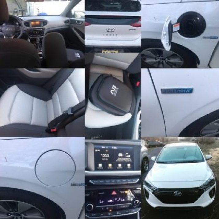 Hyundai Ioniq plugin hybrid plus Charging port for the Hyundai Ioniq plugin hybrid electric Car
