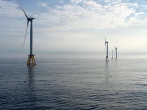 Block Island offshore wind farm. Image Source: Deepwater Wind