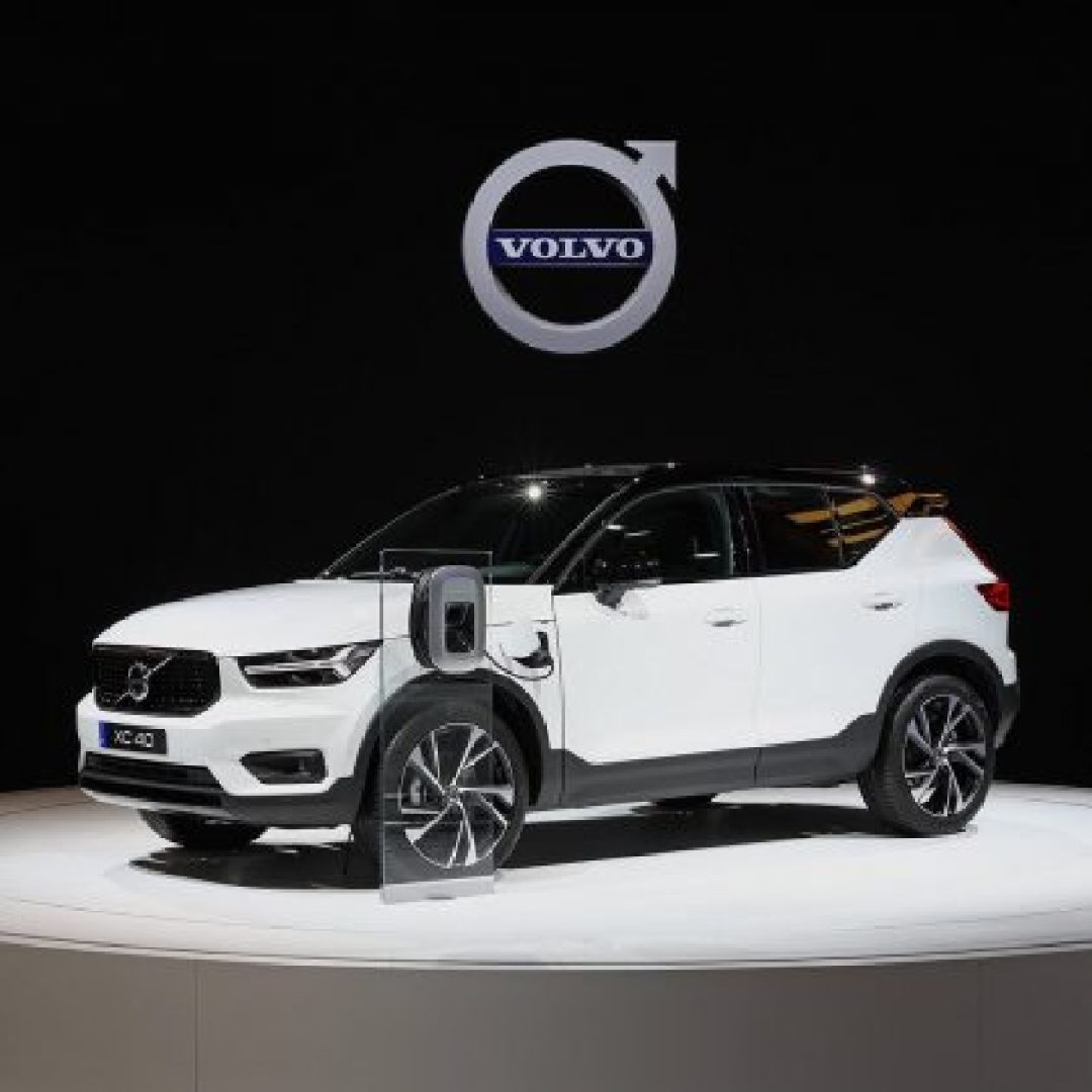Volvo electrified car SUV