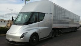 electric semi trucks