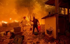 WASHINGTON, D.C. – The media is largely failing to adequately connect the latest raging wildfires to climate