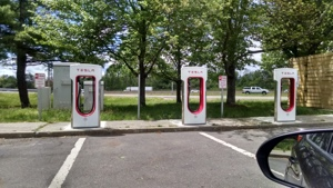 Tesla fast chargers