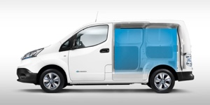 Upgraded Nissan e-NV200