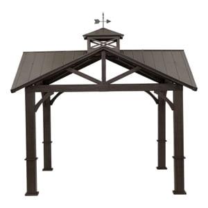 Steel gazebo