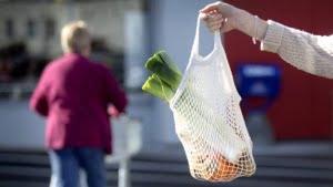 Reusable shopping bags now!