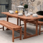 Outdoor coffee table for your garden