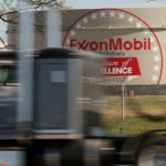 Nearly two-thirds of Exxon's shareholders voted last year for the oil giant to prepare a climate risk report. Exxon's conclusion: nothing suggests the end of fossil fuels. Credit: Scott Olson/Getty Images