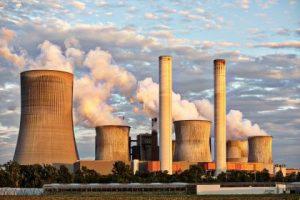 Coal power plants emissions