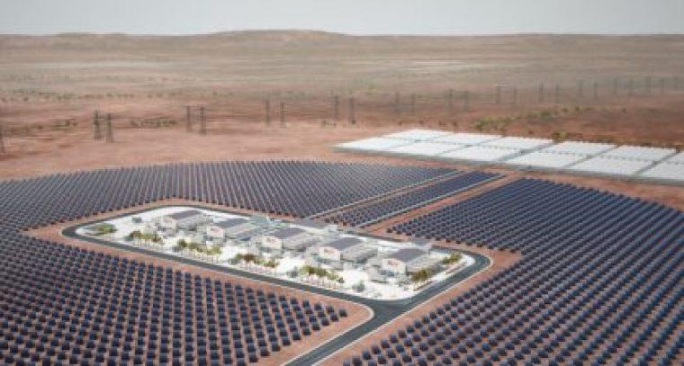Solar power large scale energy