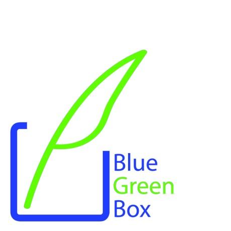 blue green logo