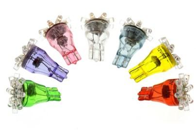 light bulb colors