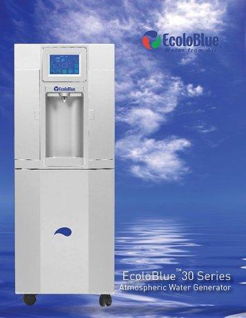 EcoloBlue Atmospheric Water Generator