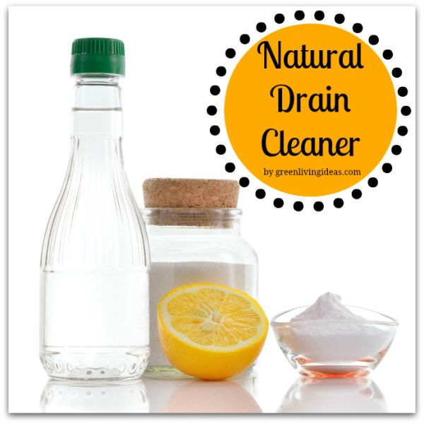 Natural Drain Cleaner for a Clean, Green Home
