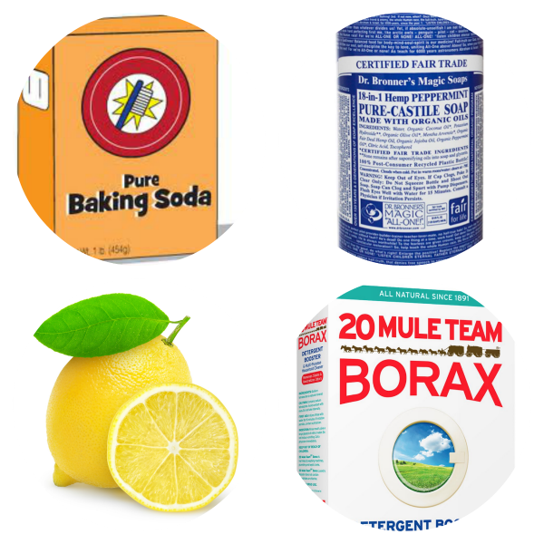guide to homemade cleaning products