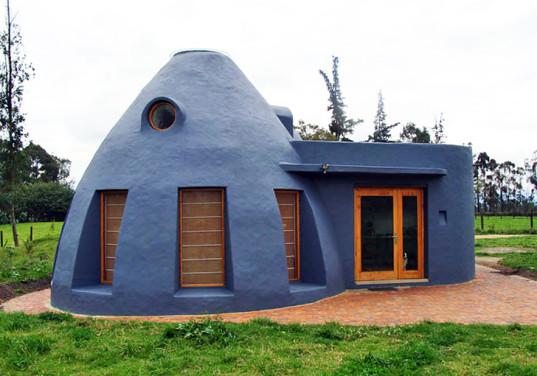 earth bag house