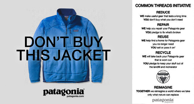 don't buy this jacket Patagonia
