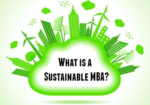 What is a Sustainable MBA