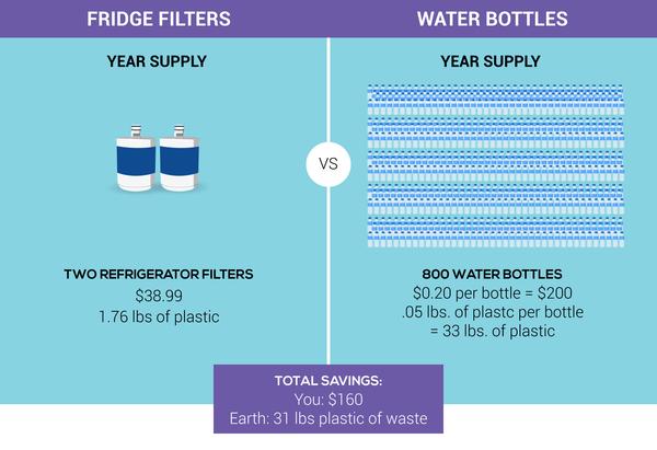 fridge filter blog infographic