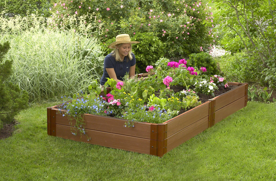 Ready Made Raised Bed Garden Kits For Organic Gardeners