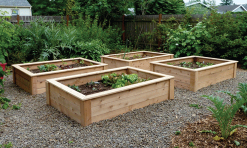 Ready-Made Raised Bed Garden Kits for Organic Gardeners - Green