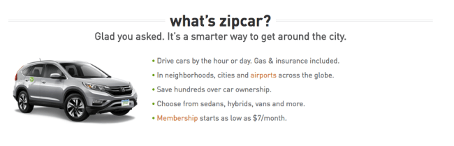 what is zipcar