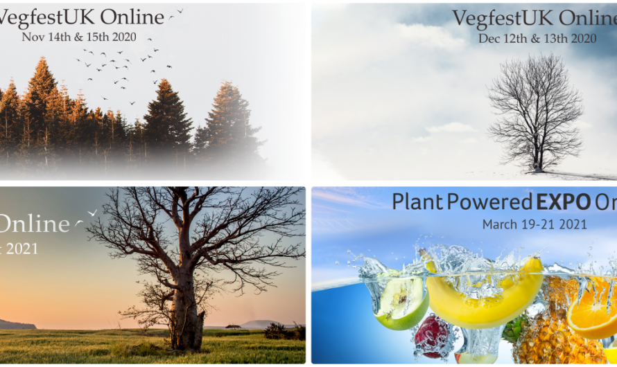 New online events for the vegan community hit the calendar