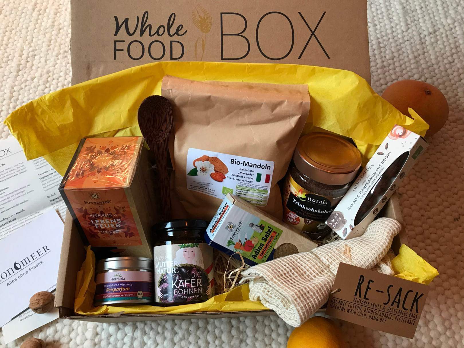 Whole Food Box von greenlooksgreat getestet