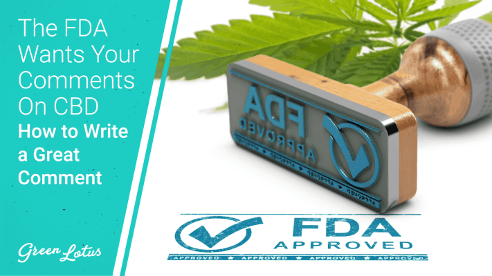 Thumbnail FDA Your Comments on CBD