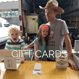 Andrew & Kids at Market - Gift Cards