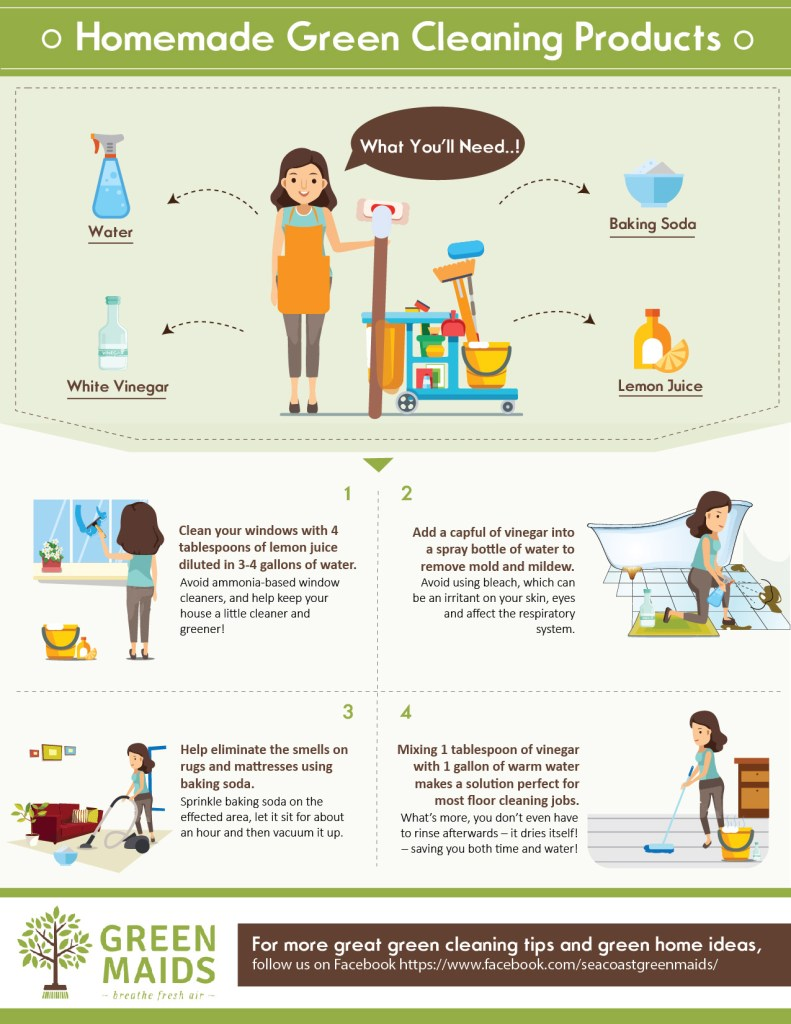 Green Cleaning Infographic