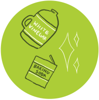 DIY sustainable cleaning products